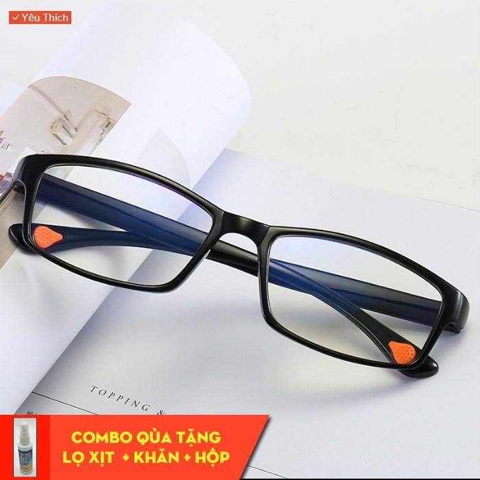 Kính viễn thị siêu dẻo chống gãy mắt kính đổi màu chống bức xạ cao cấp Nam nữ