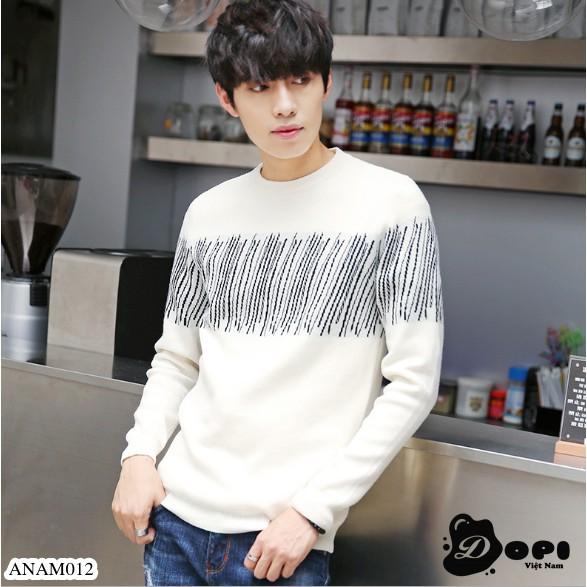 Áo len nam mỏng phong cách Hàn Quốc - Áo len nam mỏng phong cách Hàn Quốc