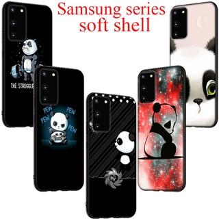 Ốp Lưng Silicon Mềm In Hình Gấu Trúc Xinh Xắn Cho Samsung A2 J4 Core J4 J6 Plus J7 Duo J8 S6 Edge