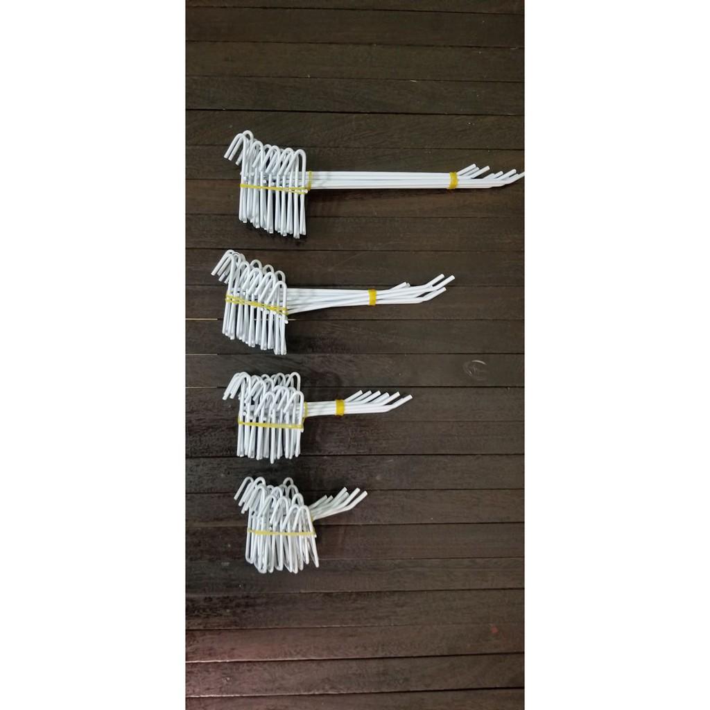 [COMBO 10 cái] Móc cài lưới sắt, tay cài lưới dùng cho tấm lưới sắt treo đồ, decor trang trí (CÓ MÃ FREESHIP)