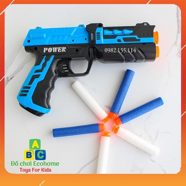 Đồ chơi súng bắn xốp nhiều mẫu an toàn cho bé