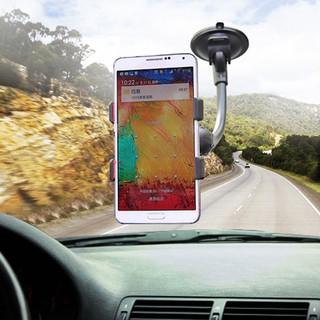 Giá đỡ điện thoại xoay 360 độ đế hút chân không gắn kính chắn gió ô tô