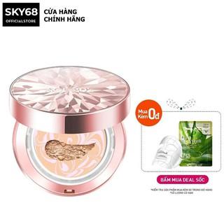 Phấn Nền Lạnh Kim Cương Lâu Trôi dành cho thường, khô AGE20's Essence Cover Pact Original SPF 50+/PA+++ Pink Beige 12.5g
