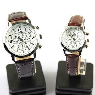 Đồng hồ nam nữ Nary dây da chống nước SP253 (Nhiếu màu) thumbnail