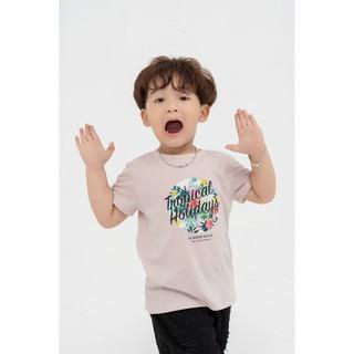 Áo phông trẻ em YODY tropical holidays mềm mịn, thoáng mát KID4020 thumbnail
