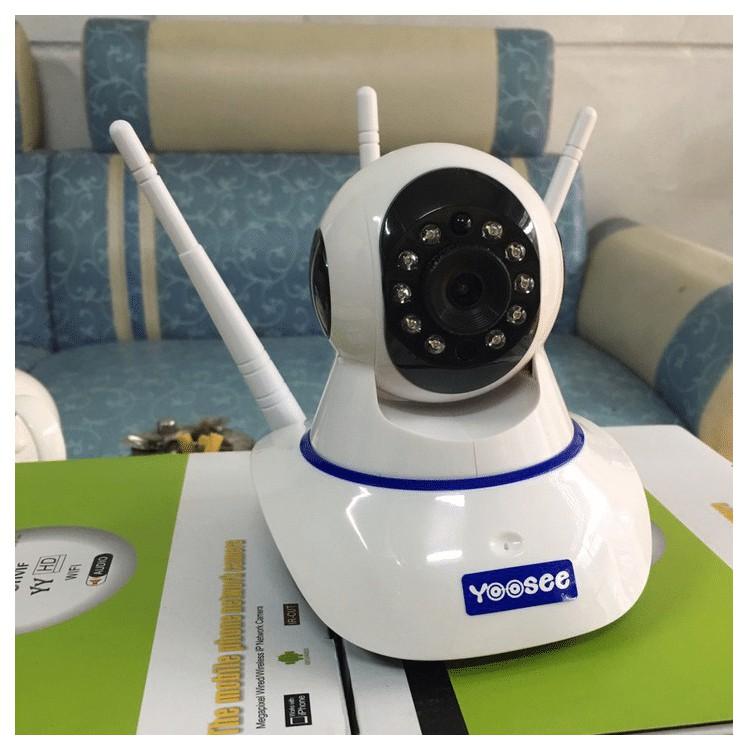 Camera Yoosee chống trộm 3 Anten IP Wifi HD720
