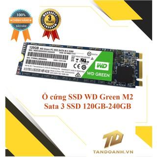 Ổ cứng SSD Western Digital Green M2- M2 Sata 3 SSD 120GB-240GB