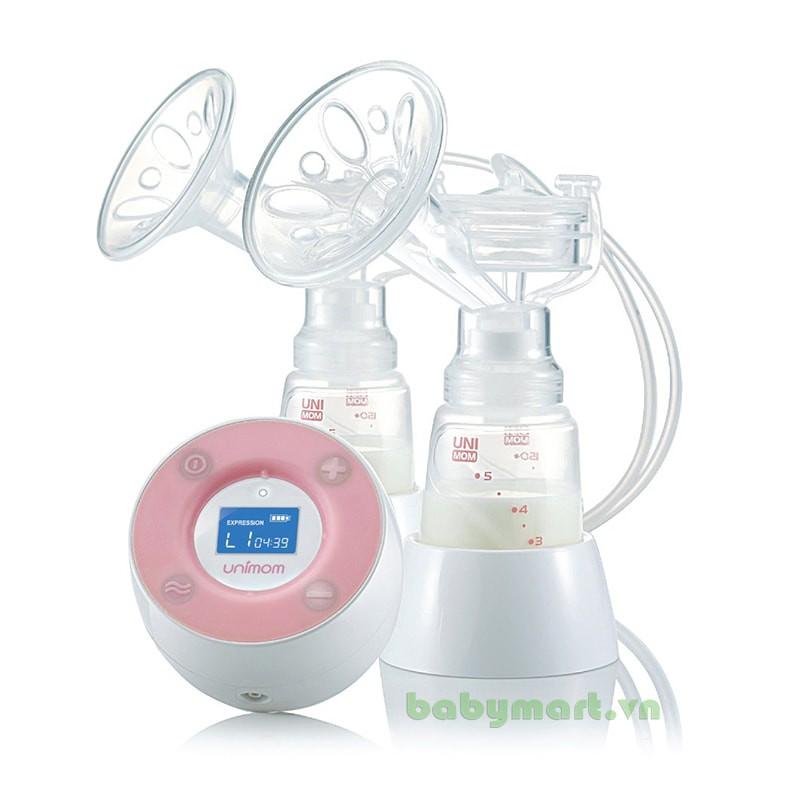 Máy hút sữa điện đôi Unimom Minuet V1223