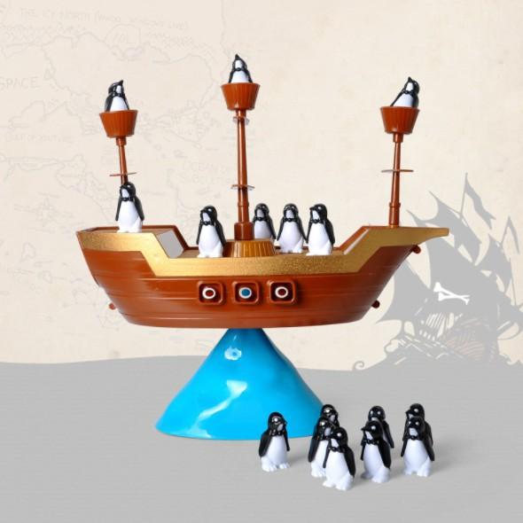 Pirate Boat Penguin Ice Cube Balancing Board Game Children Boys Girls Kids Toys