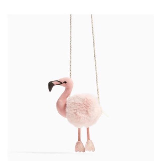 Túi đeo chim hạc hồng c