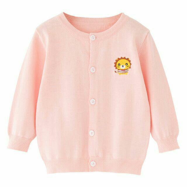 Áo khoác len ép Cardigan  Quảng châu cho bé gái nhiều mẫu