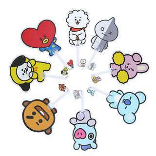 Quạt nhựa cầm tay mini tạo hình dễ thương cho fan BTS
