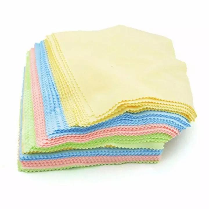Combo 100 khăn lau kính chuyên dụng