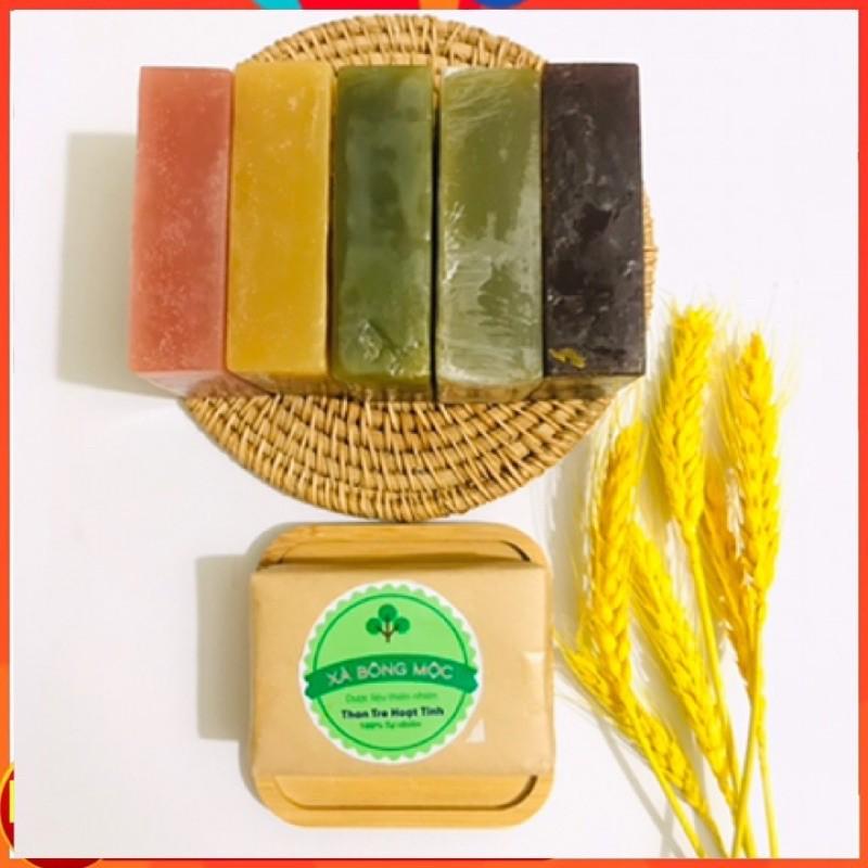 Xà bông Mộc Bồ Hòn Handmade 100% tự nhiên