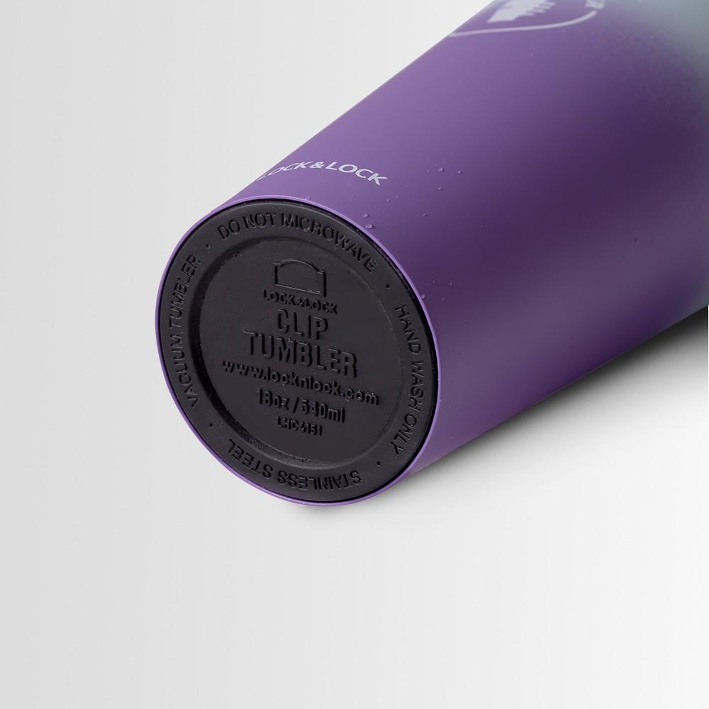 [Mã LIFELL10 giảm 8% tối đa 100K đơn 300K] Bình giữ nhiệt Lock&Lock Two-tone Clip 540ml LHC4151