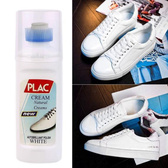 Chai Tẩy Trắng Giày Dép, Túi Xách PLAC - Nước Lau Sạch Giày PLAC