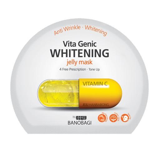 Mặt nạ giấy dưỡng da trắng sáng và làm đều màu da Banobagi Vita Genic Whitening Jelly Mask (Vitamin - 3608866 , 1296003544 , 322_1296003544 , 38000 , Mat-na-giay-duong-da-trang-sang-va-lam-deu-mau-da-Banobagi-Vita-Genic-Whitening-Jelly-Mask-Vitamin-322_1296003544 , shopee.vn , Mặt nạ giấy dưỡng da trắng sáng và làm đều màu da Banobagi Vita Genic Whit
