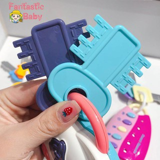 ♆♆Car Key Baby Toy Set Simulation Sound Musical Cognitive Infant Educational Gifts☜