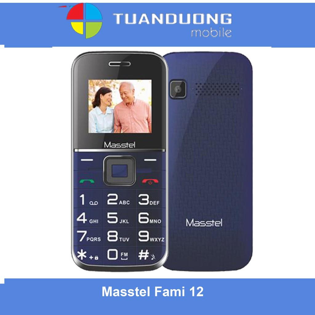 Điện Thoại Masstel Fami 12 Hãng phân phối chính thức