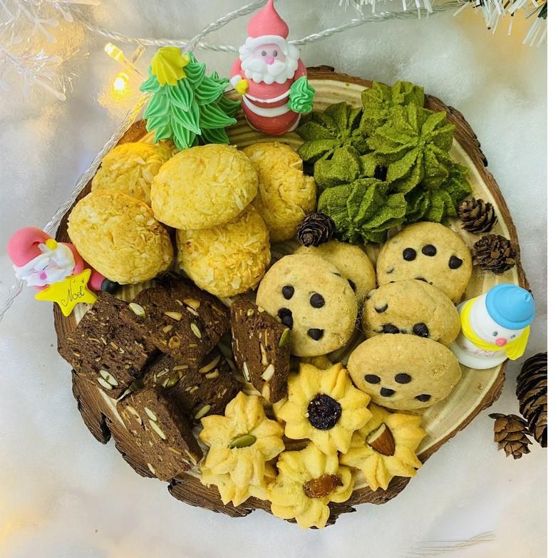 Bánh Cookie nguyên cám GreenFood, Bánh ăn kiêng giảm cân dành cho người giảm cân, tiểu đường