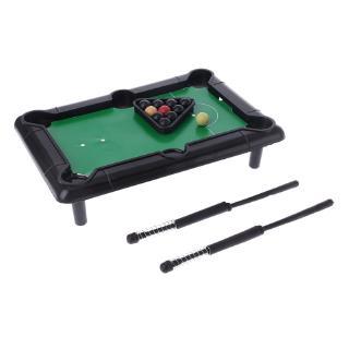 YOUN* Novelty Mini Desktop Pool Table Billiard Tabletop Pool Toy