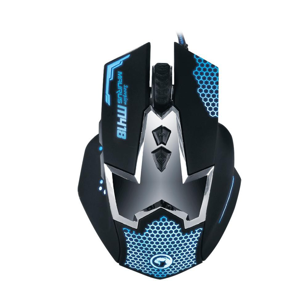 Chuột Mouse Gaming MARVO M418 USB 6D Wired