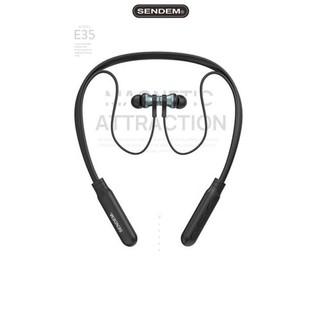Tai nghe Bluetooth Sendem E35 - Bảo hành 1 năm, tai nghe Bluetooth + Tặng kèm dây sạc 28K - Hàng chất lượng cao thumbnail