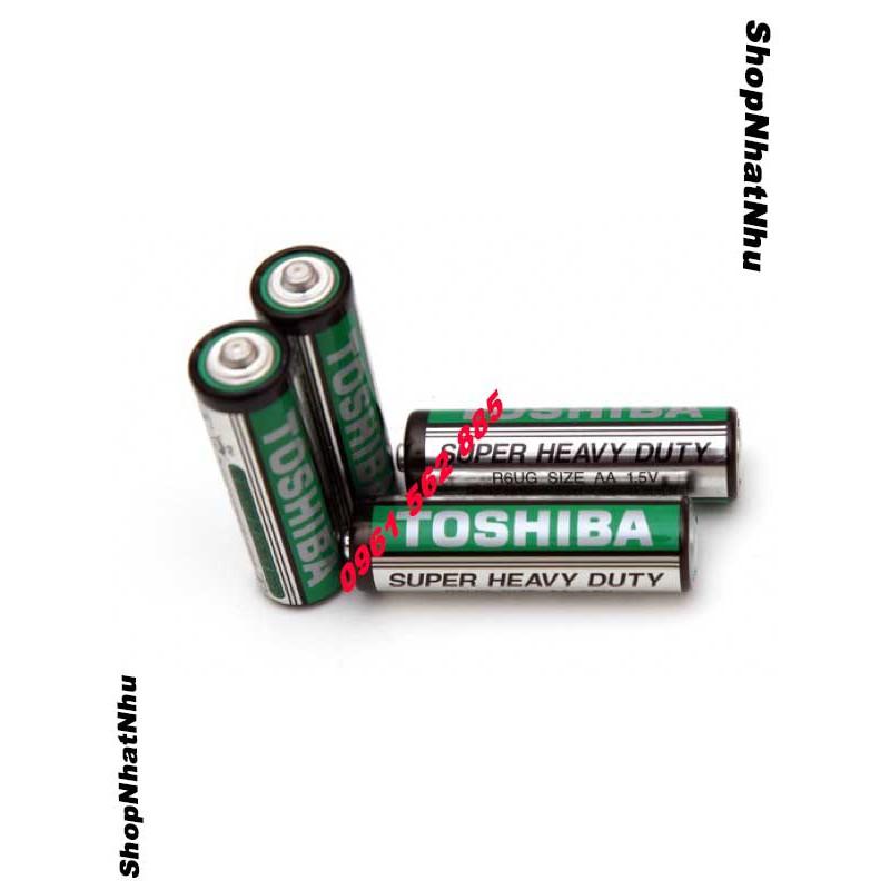 Pin tiểu Toshiba AAA- Bán đôi và hộp
