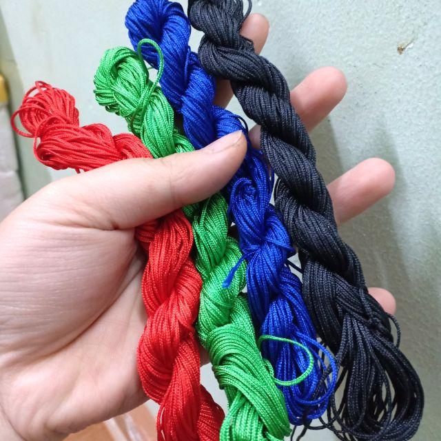 1 tép dây dù Hàn 1mm (Tầm 22-25m)