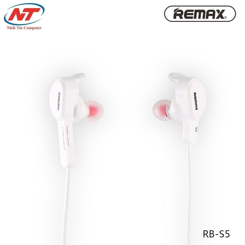 Tai nghe Bluetooth Remax RM-S5 V4.1 (Trắng) - 2507665 , 110023239 , 322_110023239 , 305000 , Tai-nghe-Bluetooth-Remax-RM-S5-V4.1-Trang-322_110023239 , shopee.vn , Tai nghe Bluetooth Remax RM-S5 V4.1 (Trắng)