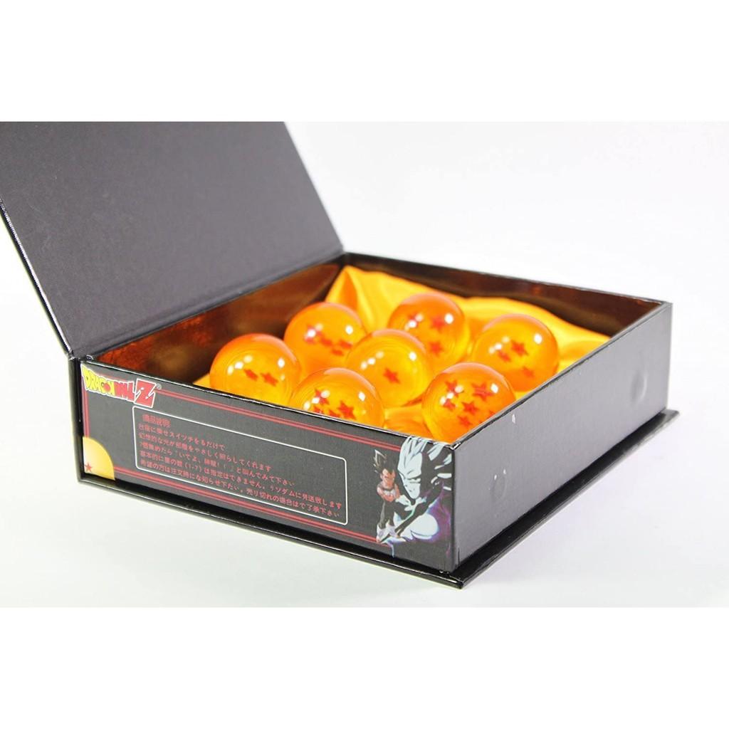 Bộ 7 Viên Ngọc Rồng Fullbox Size 4.3 Cm - Mô Hình Dragon Ball