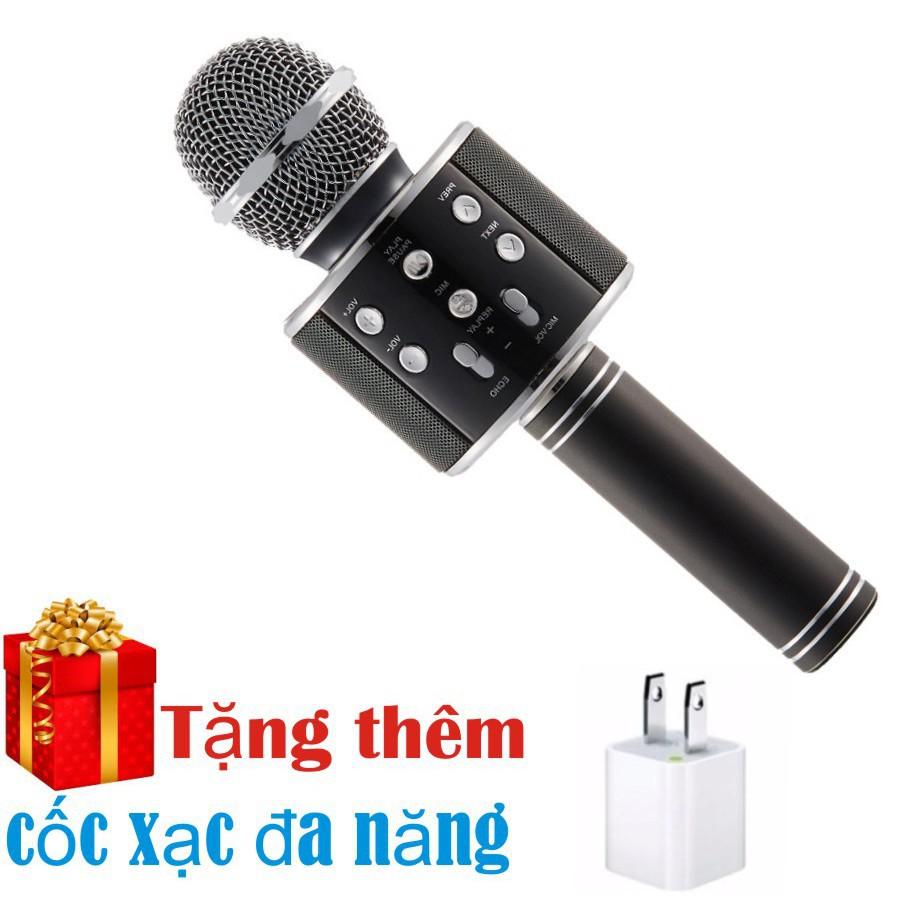 Micro hát karaoke Bluetooth 3in1 kèm loa ws 858 tăng củ sạc 5v -0,6a -dc2371 - 2642085 , 699506543 , 322_699506543 , 195000 , Micro-hat-karaoke-Bluetooth-3in1-kem-loa-ws-858-tang-cu-sac-5v-06a-dc2371-322_699506543 , shopee.vn , Micro hát karaoke Bluetooth 3in1 kèm loa ws 858 tăng củ sạc 5v -0,6a -dc2371