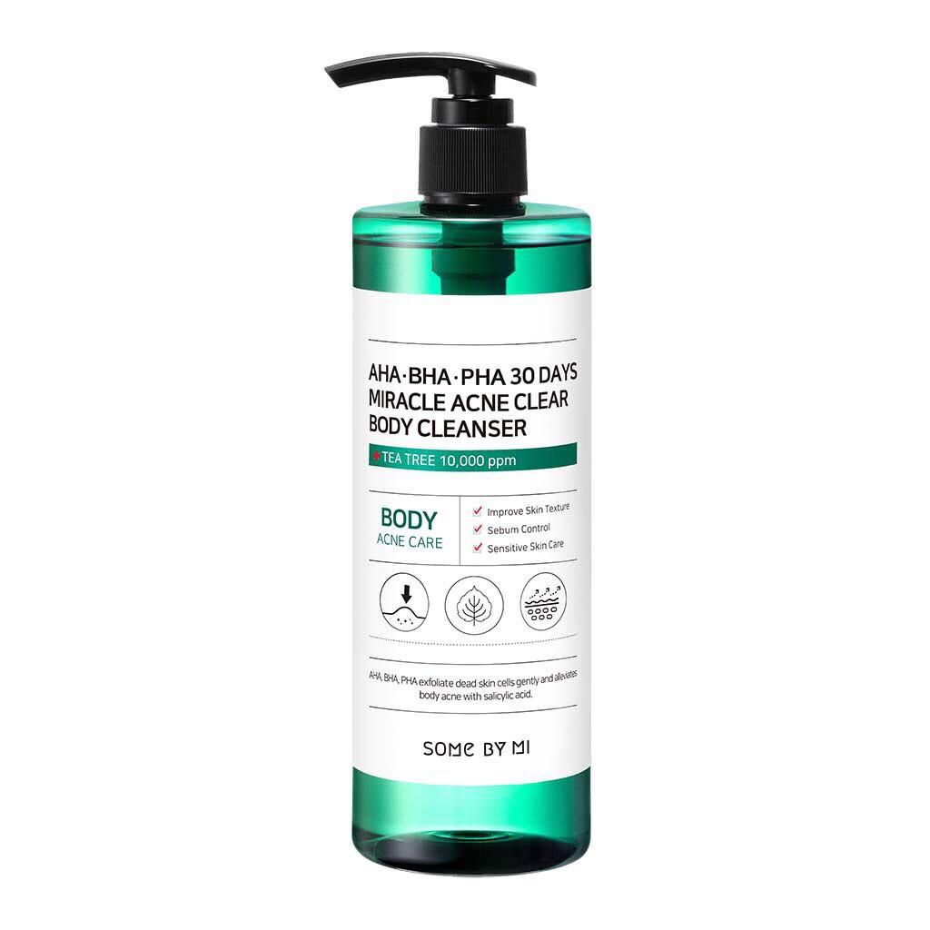 [Chính Hãng] Sữa Tắm Sạch Mụn Lưng Hiệu Quả Some By Mi Acne Clear Body Cleanser 400ml