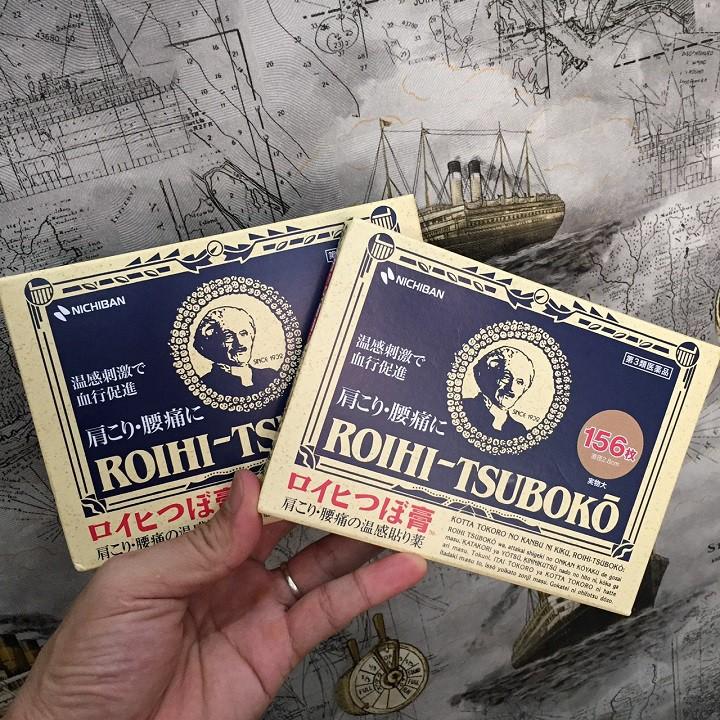 Cao dán huyệt đạo Roihi tsuboko Japan 156 miếng   Shopee Việt Nam