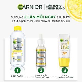 Hình ảnh [Mã FMCGMALL - 8% đơn 250K] Tinh chất tăng cường sáng da mờ thâm Garnier 30ml-7