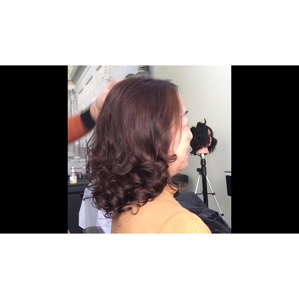 Đủ bộ sản phẩm nhuộm KOOL và dụng cụ nhuộm tóc phủ bạc lên màu tại nhà CT55