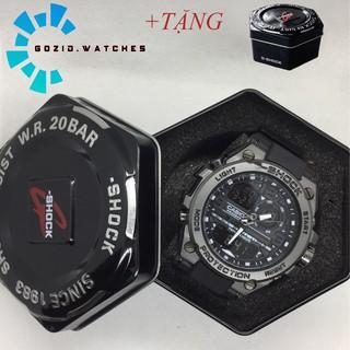 Đồng hồ nam Gozid chống nước chống xước kiểu dáng thể thao kim điện tử mã DH153