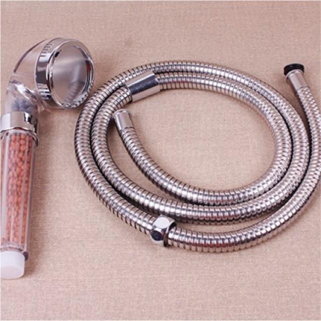 [SALE 10%] Vòi sen tăng áp Nano có lọc nước kèm dây - 2403819 , 2699622 , 322_2699622 , 85000 , SALE-10Phan-Tram-Voi-sen-tang-ap-Nano-co-loc-nuoc-kem-day-322_2699622 , shopee.vn , [SALE 10%] Vòi sen tăng áp Nano có lọc nước kèm dây