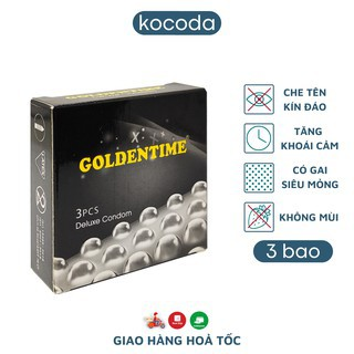 Bao cao su Goldentime Gai Hộp 3 thumbnail