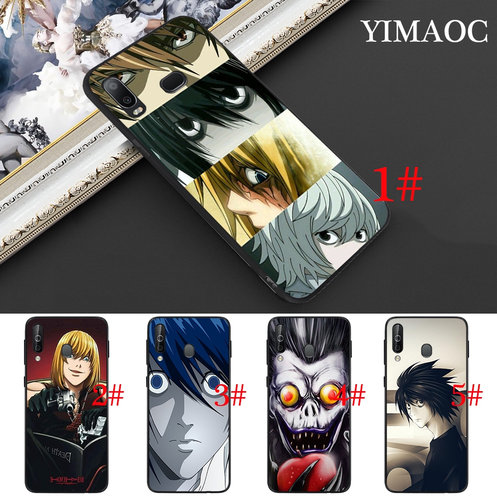 Samsung Note 8 9 10 Plus A10S A20S A30S A40S A50S A70S Death Note Soft Case
