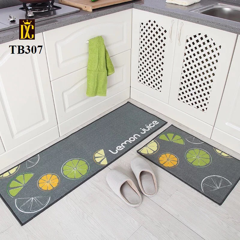 Thảm nhà bếp (tặng kèm 1 thảm nhỏ)