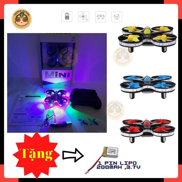 Máy Bay Điều Khiển Từ Xa,flycam mini điều khiển,siêu đầm ,lộn 360 độ,drone mini tự giữ độ cao