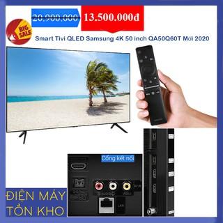 Smart Tivi QLED Samsung 4K 50 inch QA50Q60T
