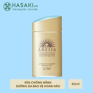 [Mã COS1212 giảm 8% đơn 250K] Sữa Chống Nắng Anessa Perfect UV Sunscreen Skin Care SPF50+ PA++++ 60ml thumbnail