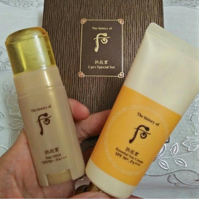 Sét kem chống nắng whoo vàng essential sun cream và thanh kcn thạch sun tick - 3326736 , 1174618508 , 322_1174618508 , 690000 , Set-kem-chong-nang-whoo-vang-essential-sun-cream-va-thanh-kcn-thach-sun-tick-322_1174618508 , shopee.vn , Sét kem chống nắng whoo vàng essential sun cream và thanh kcn thạch sun tick