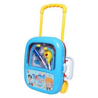 Đồ chơi bác sỹ dùng pin có đèm cho bé trai, đồ chơi khám bệnh, do choi y te (kèm pin)