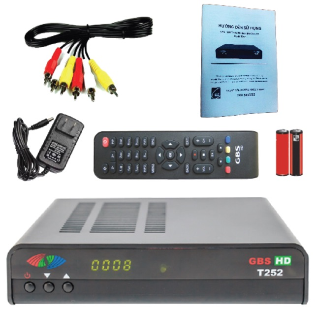 [SALE 10%] Đầu thu kỹ thuật số mặt đất DVB T2 GBS HD T252 chip châu âu - 2479896 , 1069653486 , 322_1069653486 , 585000 , SALE-10Phan-Tram-Dau-thu-ky-thuat-so-mat-dat-DVB-T2-GBS-HD-T252-chip-chau-au-322_1069653486 , shopee.vn , [SALE 10%] Đầu thu kỹ thuật số mặt đất DVB T2 GBS HD T252 chip châu âu