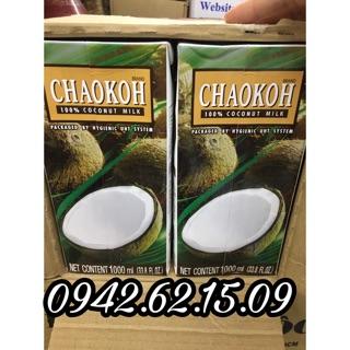 Nước cốt dừa hộp giấy 1 lít Thái Lan