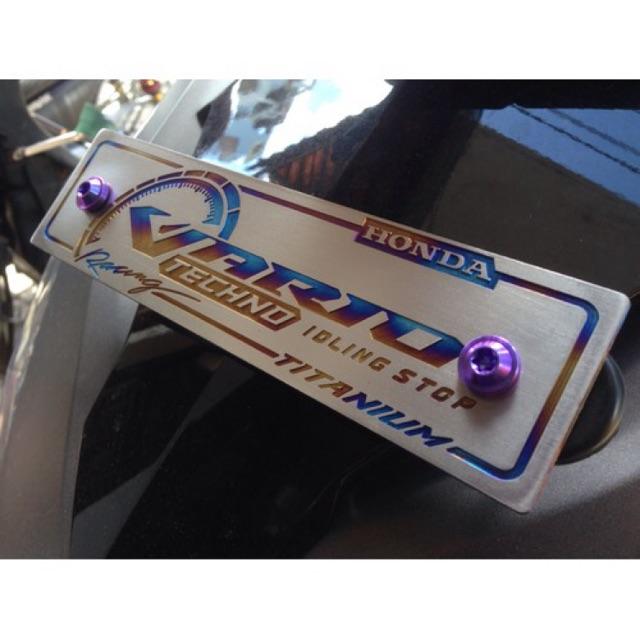Bãng tên Titanium các loại xe - 22249995 , 1865905282 , 322_1865905282 , 250000 , Bang-ten-Titanium-cac-loai-xe-322_1865905282 , shopee.vn , Bãng tên Titanium các loại xe
