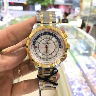 Đồng hồ Nam OLYMPIA STAR 98027G-229 full hộp chính hãng, kính sapphire chống xước ch thumbnail